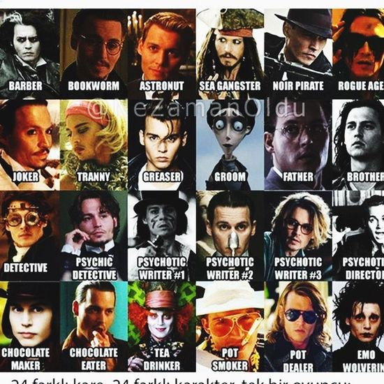 Johnny Depp Face