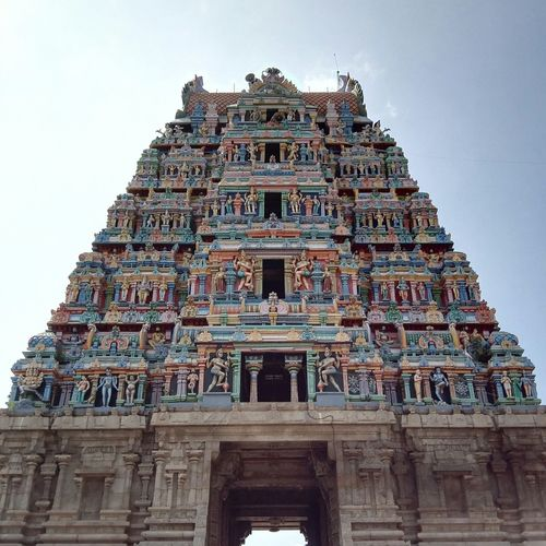 Architecture is a visual art Temple Gopuram
