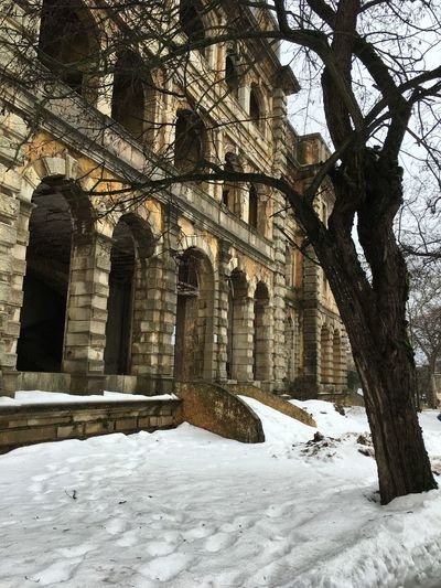 Snow Lebanon Winter Cold Whitesnow Oldhouse Beauty Beauty In Nature Sawfar