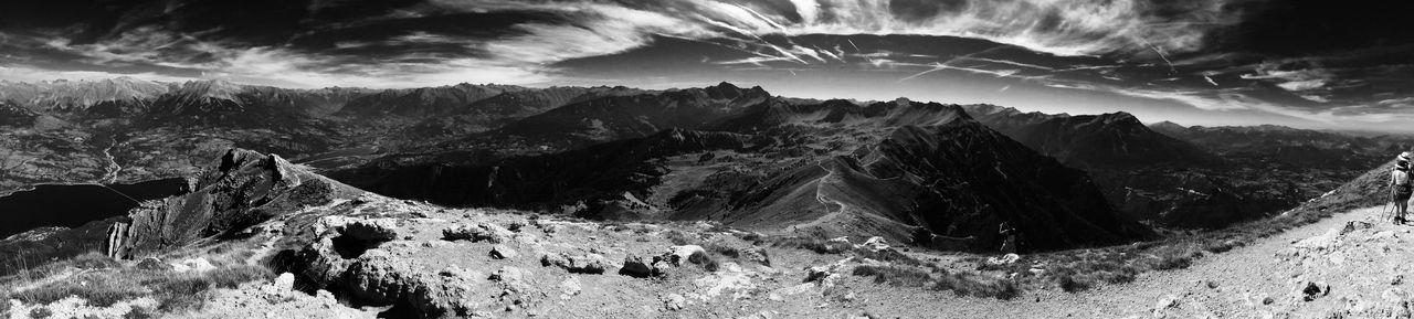 Le pic du morgon (2324m) Savines-le-lac - Hautes-Alpes