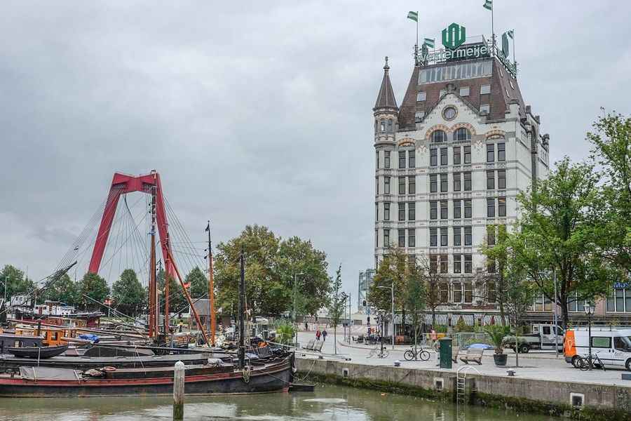 Rotterdam Architecture Outdoors Travel Destinations Day City Witte Huis