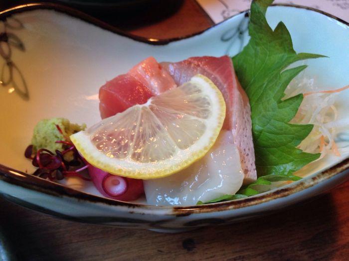 Food Sliced Raw Fish