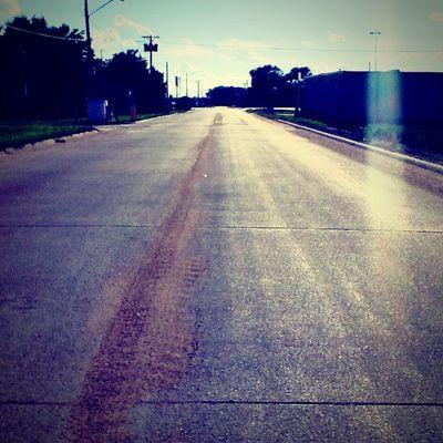On The Road Street Vintage Light