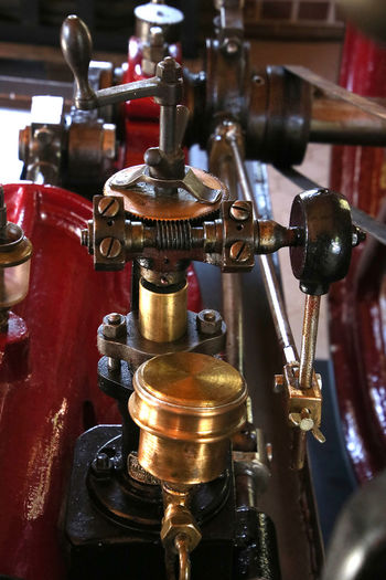 Metal Industry Machinery Close-up Machine Part Still Life Steam Engine Detail Antique