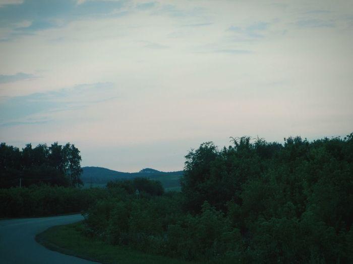 красота Природа прекрасный вечер дорогадомой Beautiful Beautiful Nature Beauty In Nature Nature вечер Evening No People