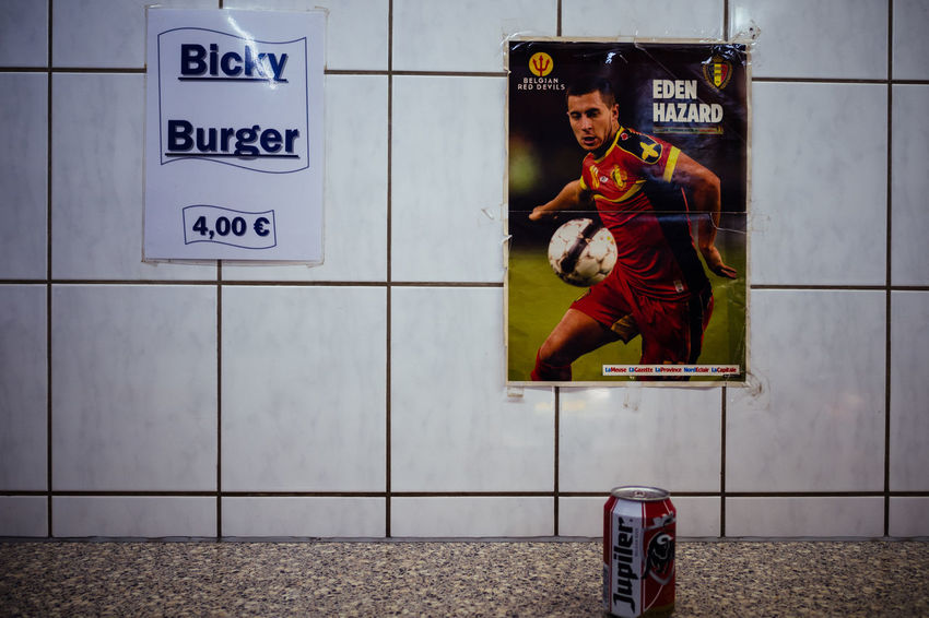 Belgium Fast Food Worker Day Frites Indoors  Locker Room One Person People Real People Streetphotography
