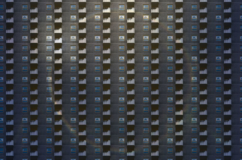 Architecture Pattern Textured  Background Anonymous Modern Repetition No People City Metropolis Façade Flats Future Housing Overpopulation RENT