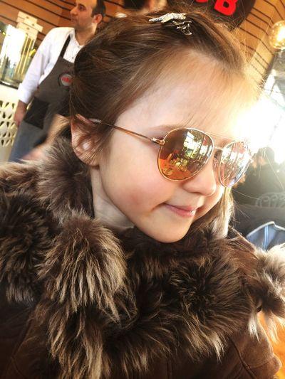 Defnem Kızım IPhone IPhone Photography Prenses Portrait Real People Headshot Lifestyles One Person Leisure Activity Child Girls Smiling