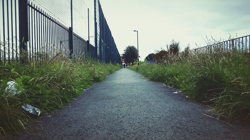This Is Perspective day 6. Vanishing Point Down Low School Run School Walk