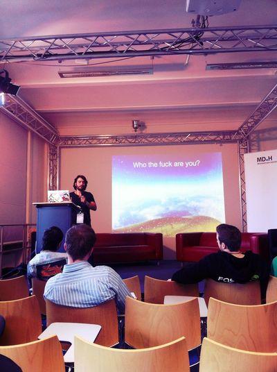 Listening at Startup Camp 2012 Listening