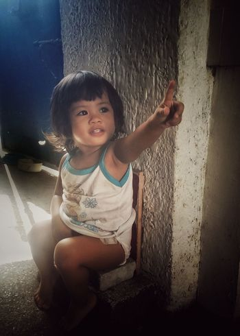 Little child Childhood Child Indoors  Children Only One Person Window Drop Shadow People One Girl Only Day Portrait