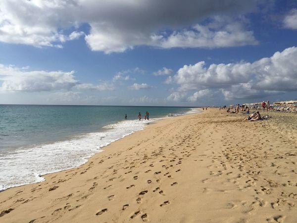 Plage à Fuerteventura Canarias Beach España Playa