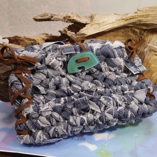 TSUMUGUハンドメイドバッグ Check This Out Enjoying Life Eyem Best Shots Handmade Denim Bag Pouch Denimpouch Handmadebag
