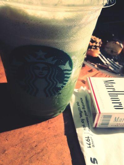 My favorite Green Tea Frapuccino. Always