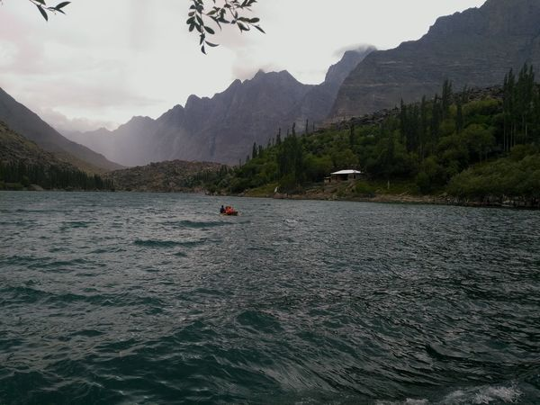 Uper kachura lake, Skardu, Pakistan Nature No People Leaf Close-up Beauty In Nature Vine - Plant Day PhonePhotography Outdoors Honor5x This Week On Eyeem Growth Freshness Blue Blue Sky Low Angle View Summer Water Lake Boating Lake View Lakeside Waterfront Blue Water Blue Color