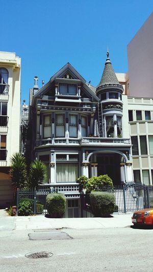 victorian house Street Photography San Francisco Myneighborhood