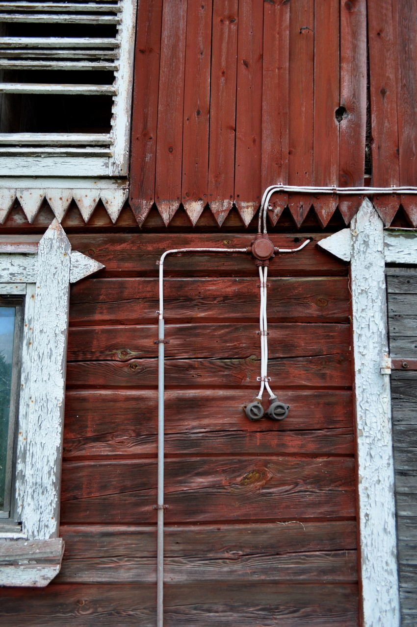 wood - material, metal, no people, door, outdoors, day, built structure, architecture, building exterior, close-up