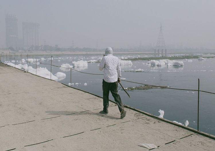 Toxic / Delhi, India. © Zacharie Rabehi / @agencelejournal