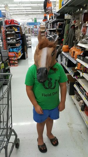 Horsing Around♡ Horsing Around Horsingaround Mask Holloween Holloween Mask