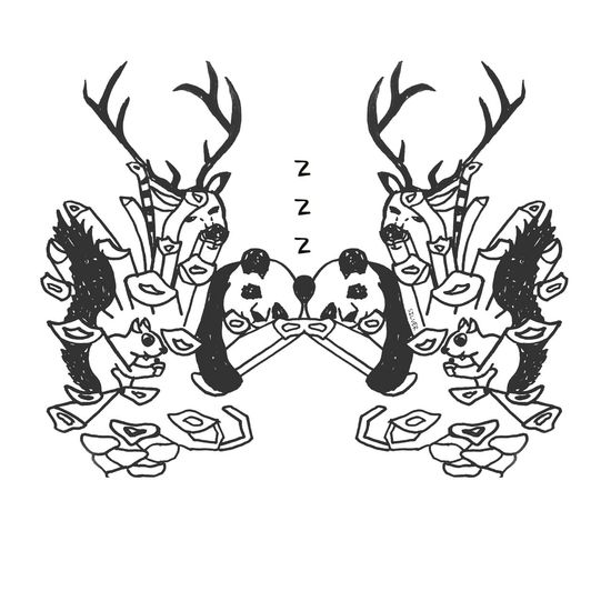Eyemart Sleepy Illustrator Illustration Love Arts Artist Animals Animal Doodles Doodle Art Panda Deer Squirrel Squirrels Sketches Sketch Sketchbook Drawing Nature Animalslover Animalslovers Art, Drawing, Creativity Artoftheday