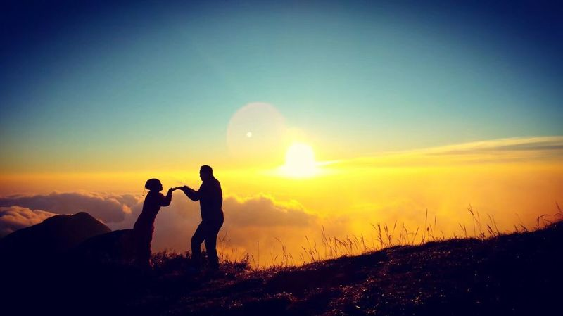 Two People Real People Nature Sun Togetherness