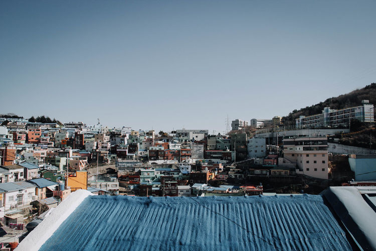 Architecture Building Exterior Built Structure Building City Residential District Sky Clear Sky Copy Space Crowded Nature Day Crowd House Cityscape Town Outdoors Roof Community Apartment TOWNSCAPE Korea EyeEm Best Shots