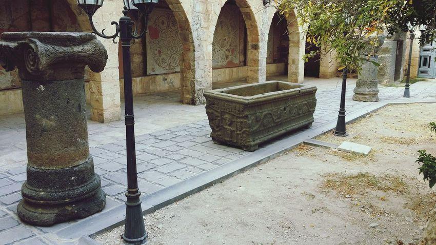 Sarcophagus Um Qais Irbid Museum