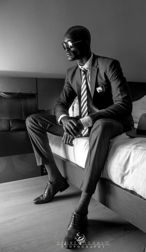 Blackandwhite Portrait Ofureighalo Lagos Showcase: November