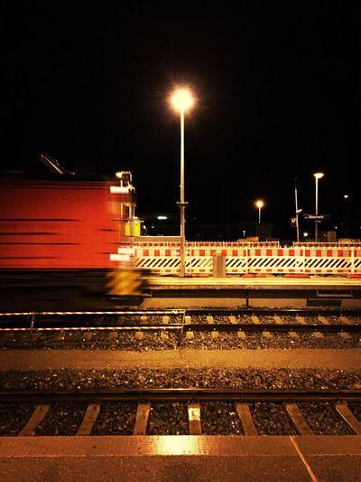 Public Transportation Jena Night Streetphotography