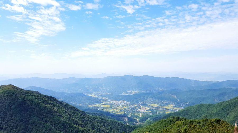 지리산 Jirisan Mt. Jiri Jirisan Mountain Mountain View