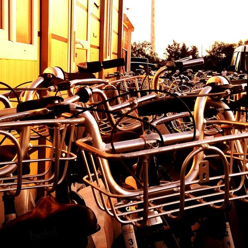 EyeEm Selects Sky No People Day Bicycle Parking Bicyclist Bicyles Istanbulcity Turkiyelovers