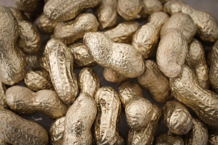 Close-up of peanuts