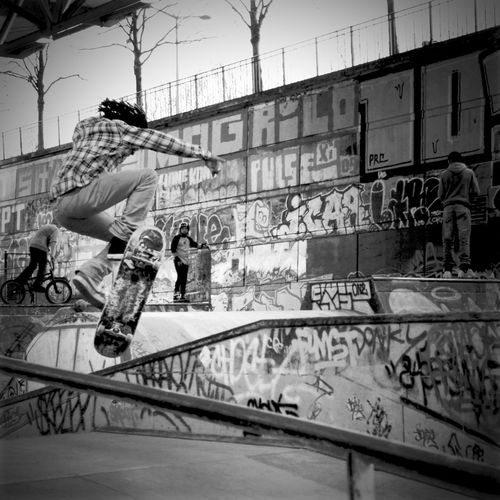 Make Magic Happen Skateboarding Skate Popular Photos Popular Enjoying Life Sport Sky's The Limit Eye4photography  City