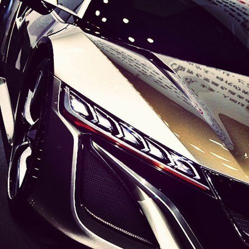 NSX concept 福岡モーターショー Honda Nsx