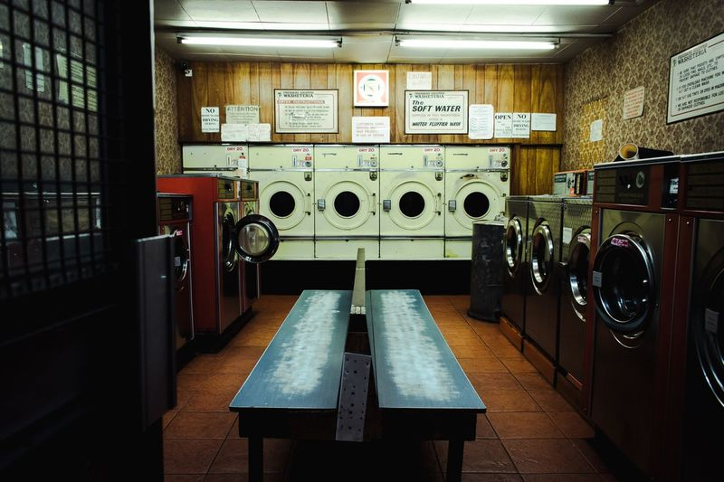 Laundromat Tones Gameoftones Machinery Retouch Lightroom Time Machine Laundromat Washing Machine Indoors  Laundry Laundromat Table Machinery Dryer  Technology