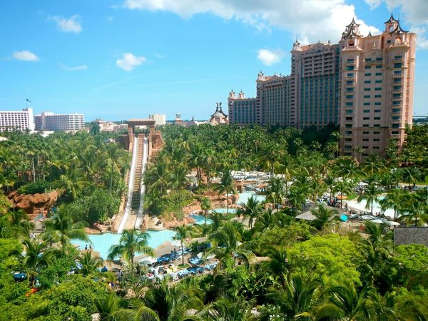 #Caribbean #nassau #resort Aerial View Architecture Building Exterior Built Structure City City Life Cityscape Day Growth High Angle View Mode Of Transport No People Outdoors Sky Skyscraper Transportation Travel Destinations Tree Urban Skyline