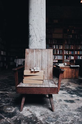 An old chair in