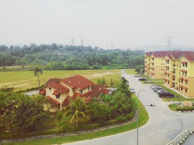 The view from sixth floor. Gonna miss this place. Place where we hangout together, having a blast day together, laugh together, watch a telemovie together, everything together. See you guys next sem!