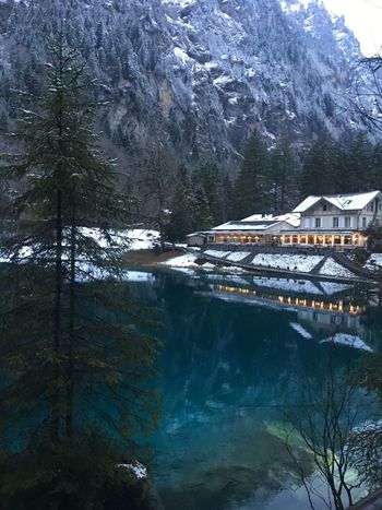 Switzerland Switzerlandpictures Beauty In Nature Lake Snow