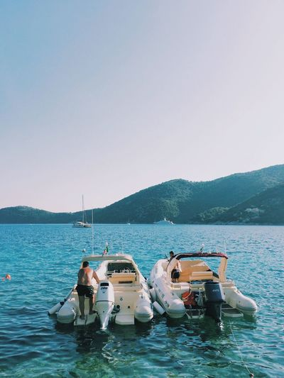 EyeEm Selects Greek Lefkada Life Boating Tanned Old Men Chillin'