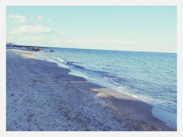 Море, вечер ,жизнь
