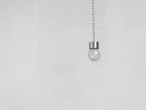 Beauty in simplicity💡 Wall - Building Feature Hanging Indoors  No People Close-up Fire Alarm Day One Lightbulb Minimalism Keep It Simple Simplicity Simple Simple Photography Beauty In Simplicity The Week On EyeEm