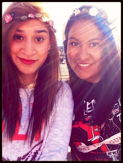 Yesterday at the game:) Wreckem Raiders