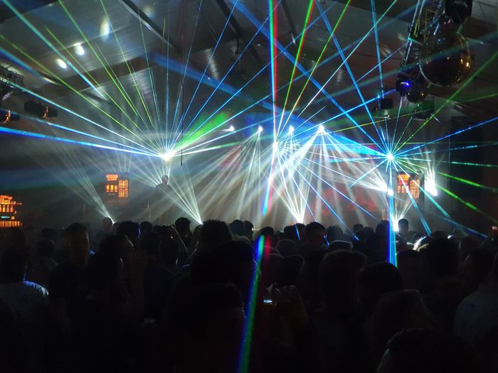 party hard with a great lasershow Party Laser Lasershow Laser Lights  People Festival Festivity Stage Music Dancing Crowd Entertainment Fun Event Dance Nightlife Audience Electronic Silhouette Bright Concert Background