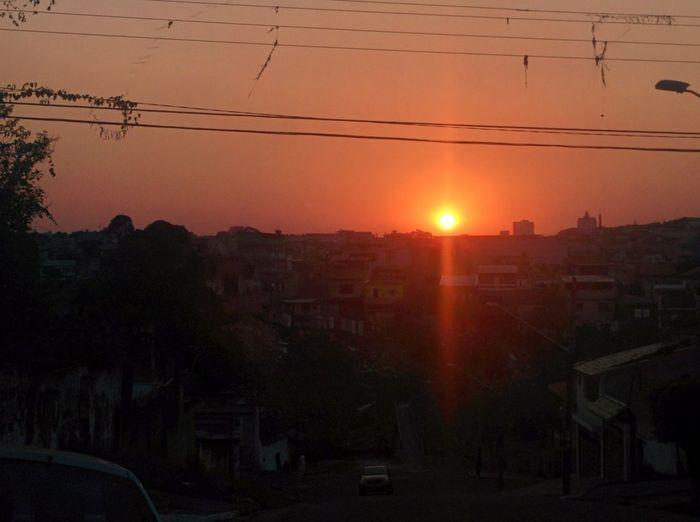 Sunset in São Paulo...