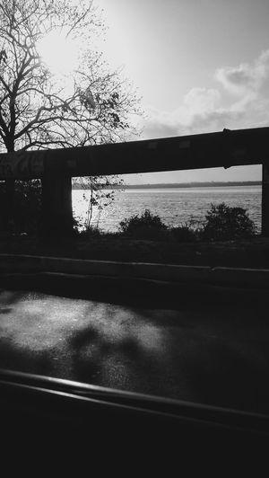 street Silhouette Cloud - Sky Architecture Suspension Bridge