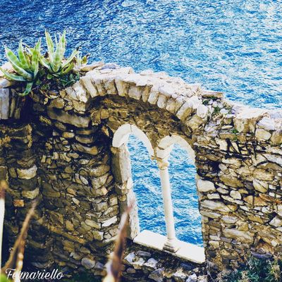 Day Architecture Built Structure Arch No People Nature Blue Outdoors Water Sea Building Exterior Beauty In Nature Close-up