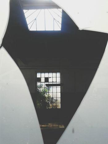 Old Bulding Broken Glass