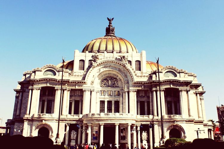 This is Palacio de Bellas Artes. Visiting My City Marble Palace Mexico City About Today