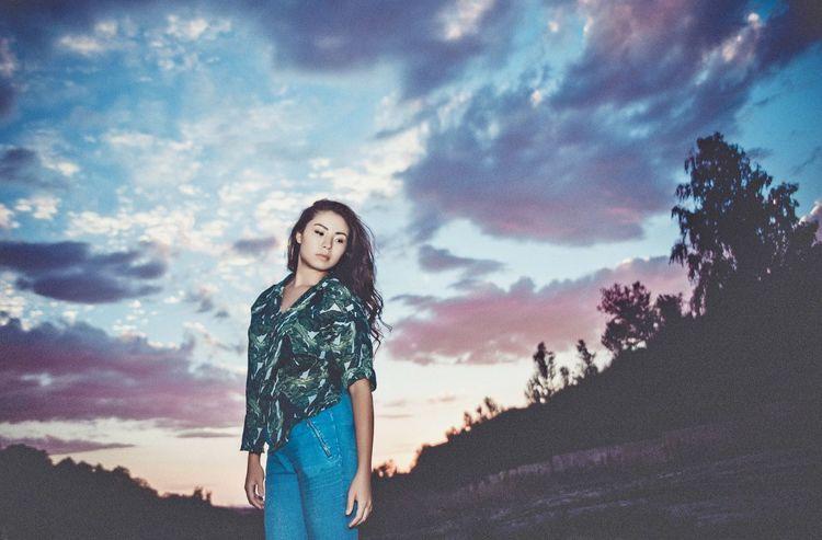 Girl Photography Sky Photo Art